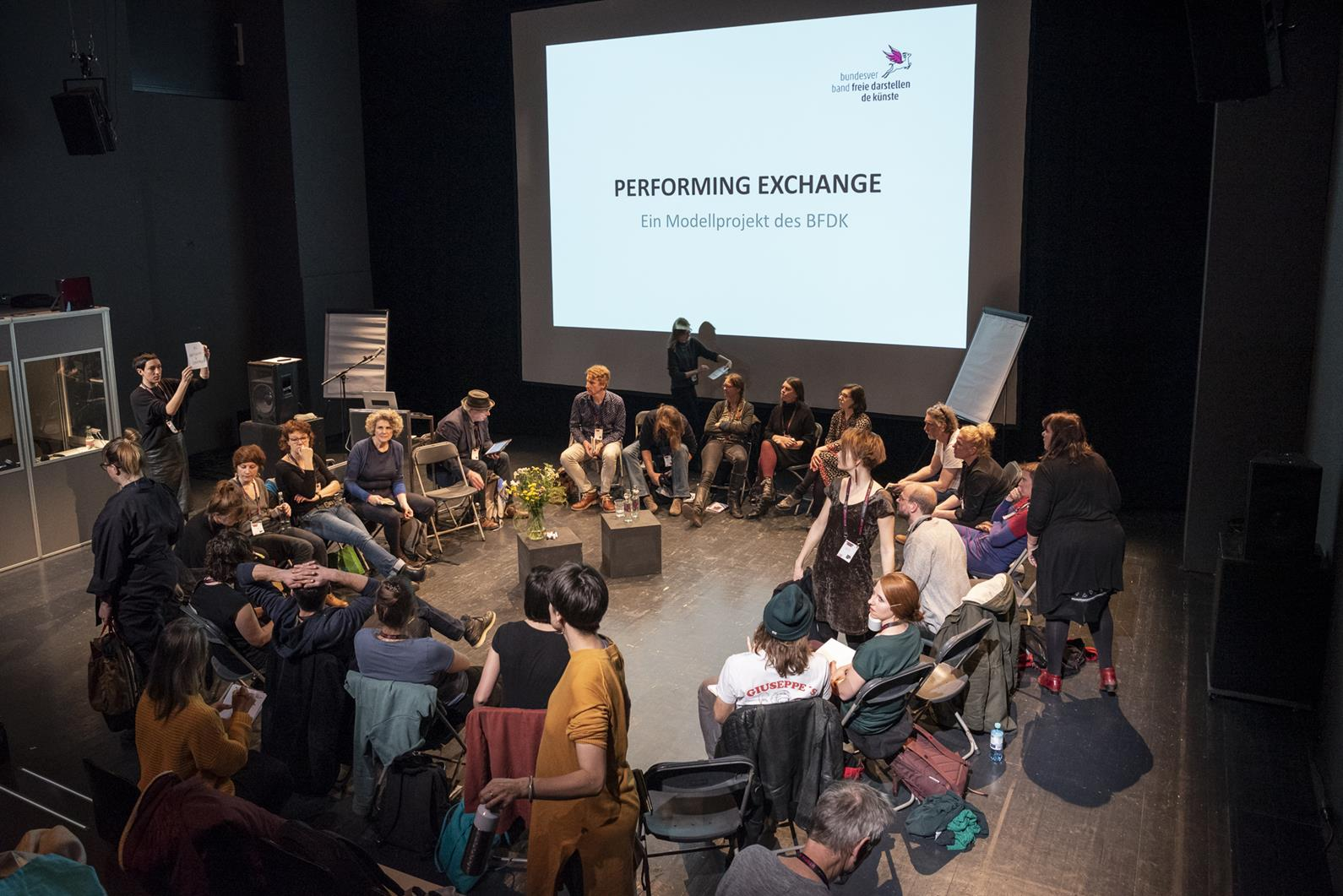 Performing Exchange – the Art of Education and Education in the Arts